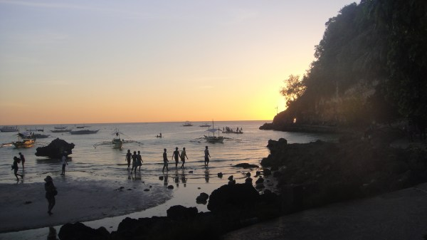 Sunset beyond Steve's Cliff