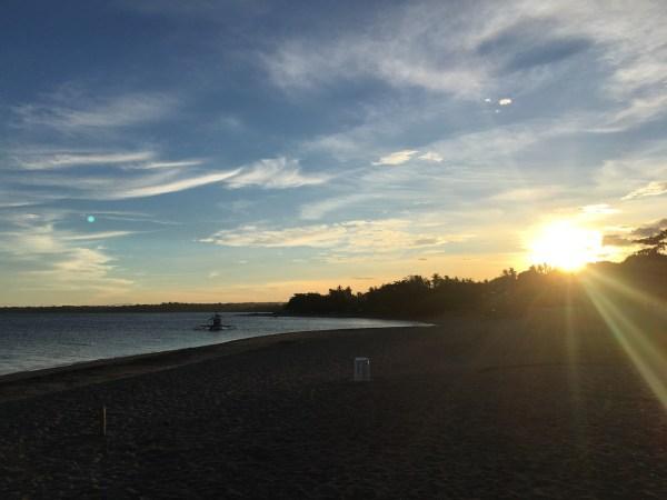 Sunset in Negros Oriental