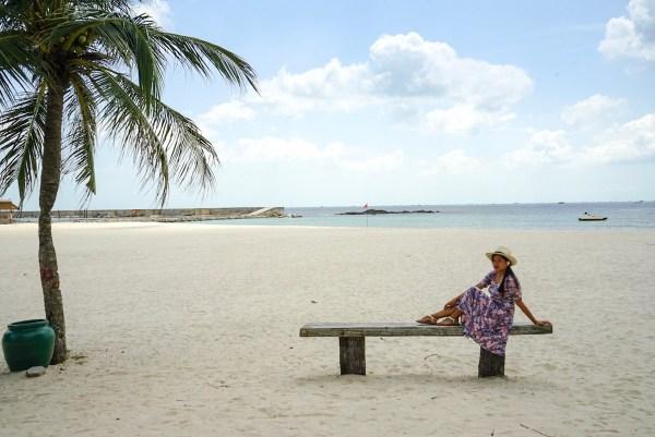 The Author at Bintan Lagoon Resorts