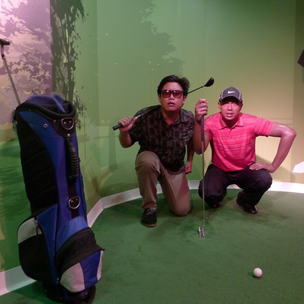 Tiger Woods at Madame Tussaud's Bangkok