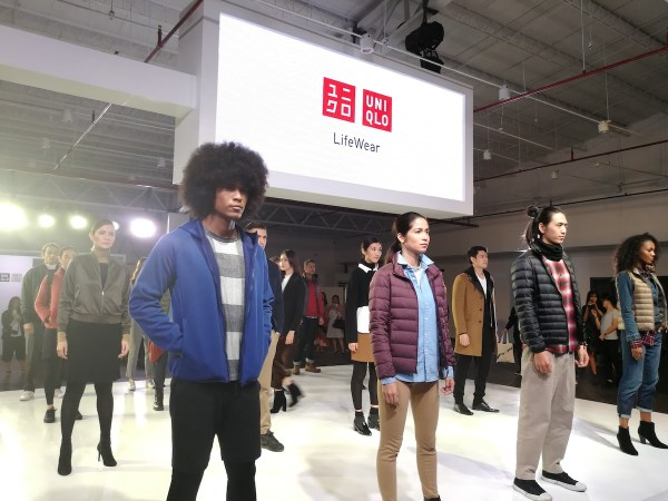 UNIQLO LifeWear Manila Fashion Show 2017