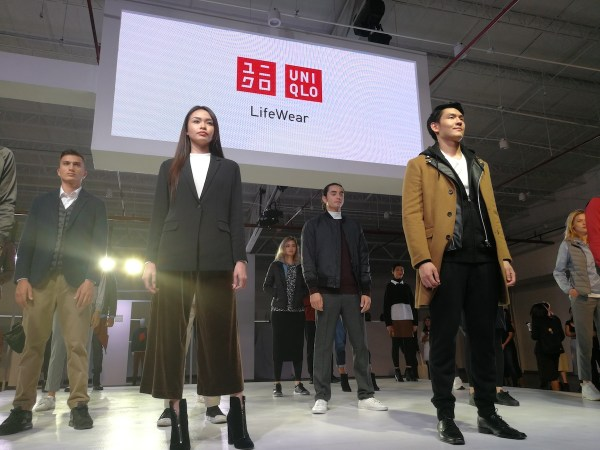 Uniqlo Press Preview Fashion Show in Manila 2017