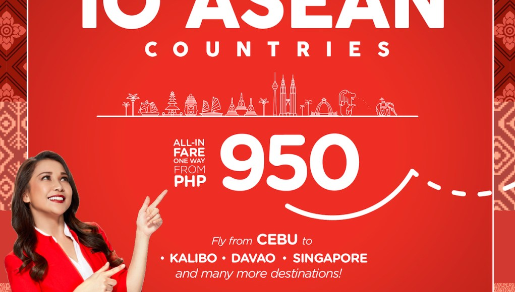 ASEAN Promo from as low as P950