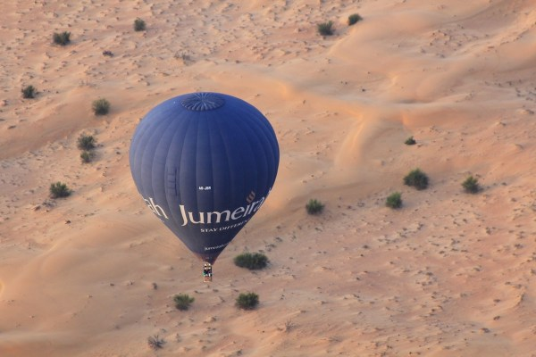 Balloon ride to Dubai in one day