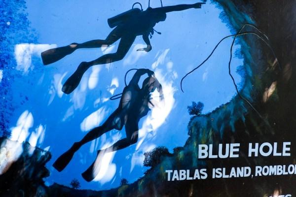 Blue Hole in Tablas Island Romblon