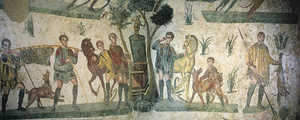 The Little Hunt mosaic