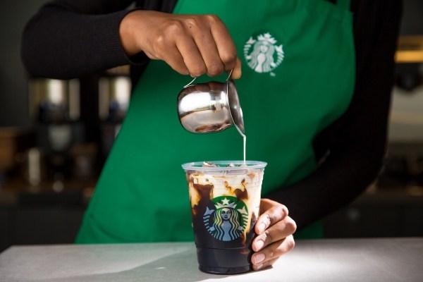 Vanilla Sweet Cream Starbucks Cold Brew