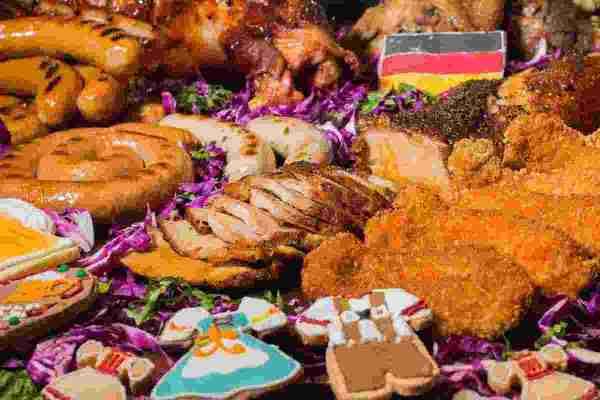 2017 Oktoberfest food