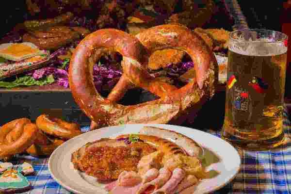 German food at Oktoberfest
