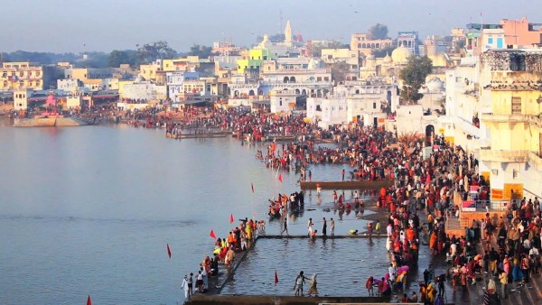 Pushkar Lake Visit in India