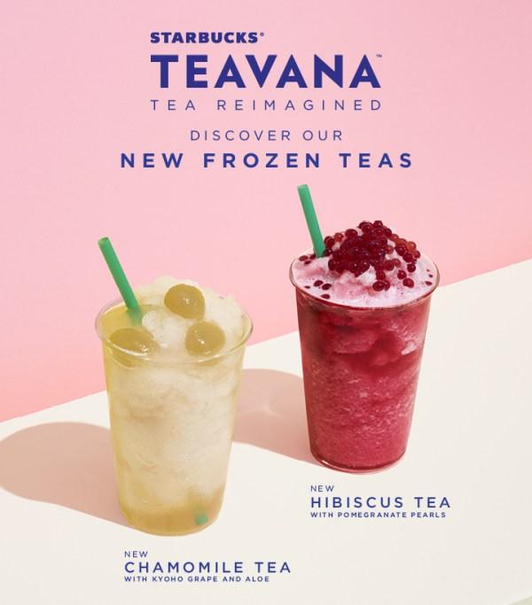 Teavana Frozen Teas