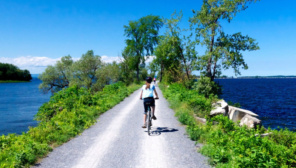The Island Line Trail via Rootsrated.com