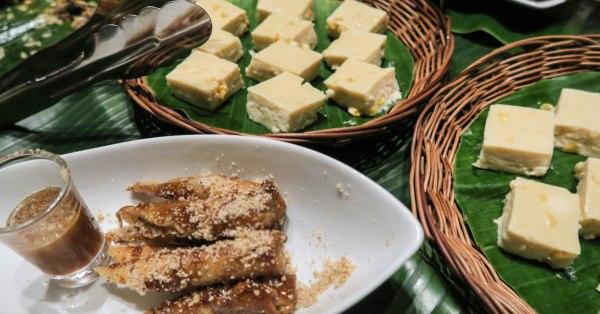 Sophia Garden Resort – El Comidor's Fried Suman Ala Mode and Maja Blanca