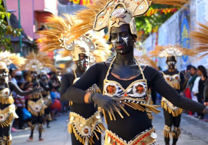Biniray Festival Street Dance Performers