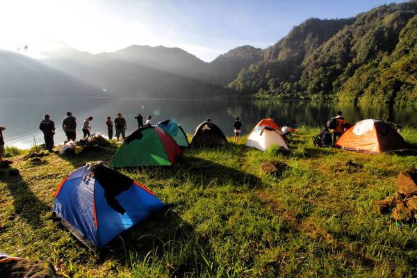 Camping in Lake Holon photo via Lake Holon FB Page