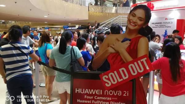 Huawei NOVA 2i launch in Mall of Asia