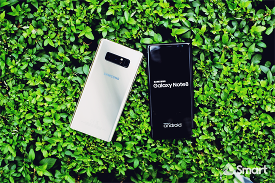 Samsung Galaxy Note 8 works best with improved SMART LTE