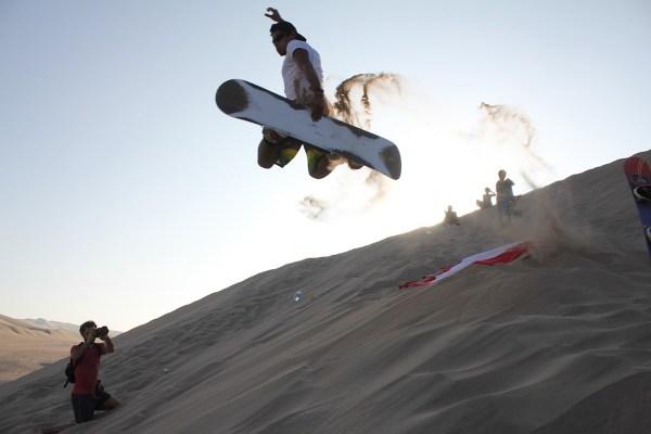 Sandboarding in Huacachina Village