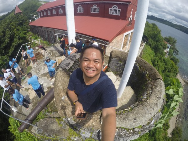 Selfie at the Culion Watchtower