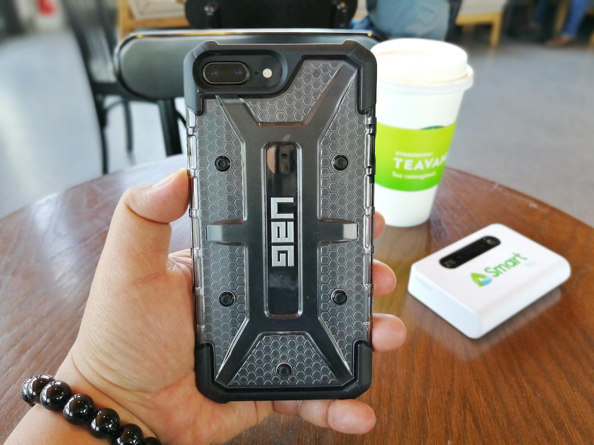 more photos 15e15 e240c Travel Gadget: UAG Plasma Case For iPhone 8 Plus 7/6/6s Can ...