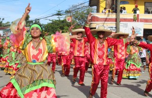 The grand street parade of MIMAROPA Festival