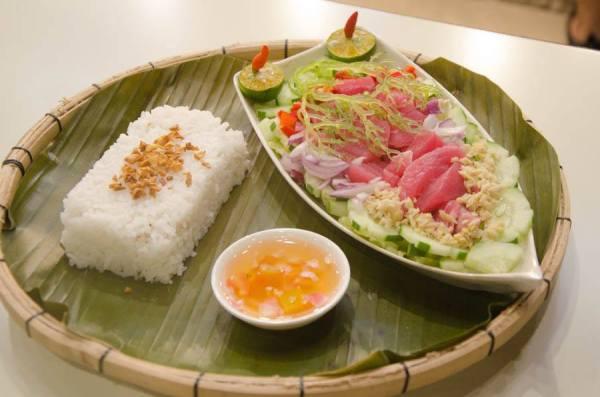Kinilaw with Rice at Boxed Up Davao City