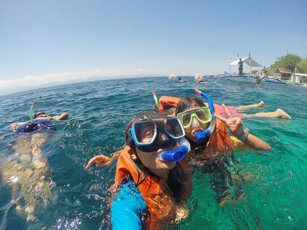 Snorkeling in Moalboal by faithmariii