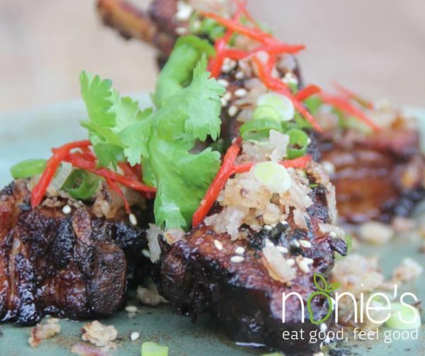 Sticky Pork Ribs by Nonie's fb page