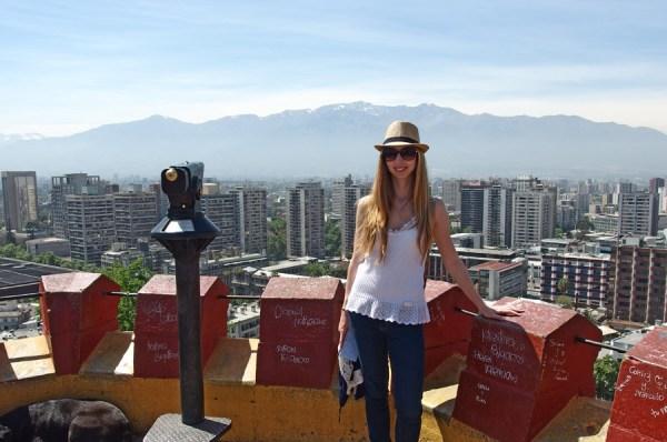 Veronika in Santiago de Chile