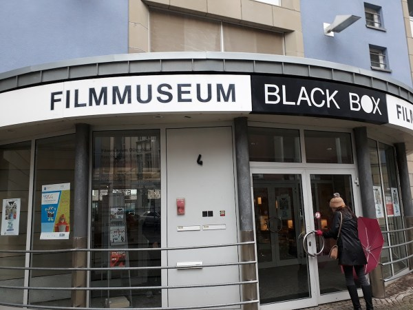 Entrance to the Black Box Film Museum