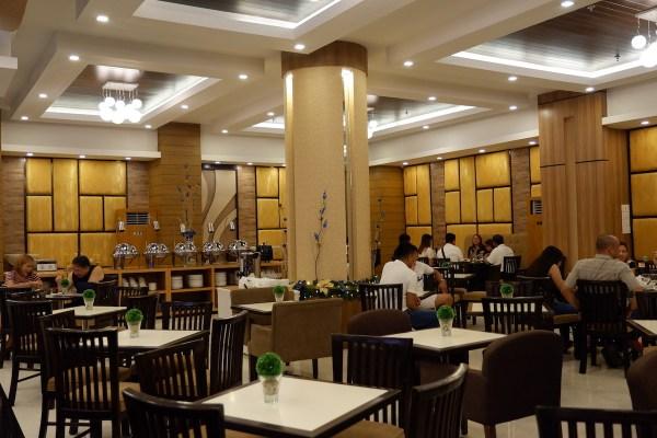Azzurro Hotel Dining Area