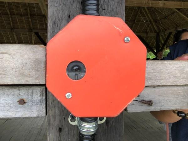 Camera that monitors water level