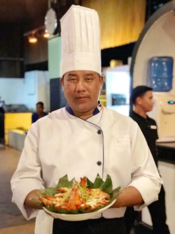 Chef of Veranda Restaurant in Puerto Princesa City