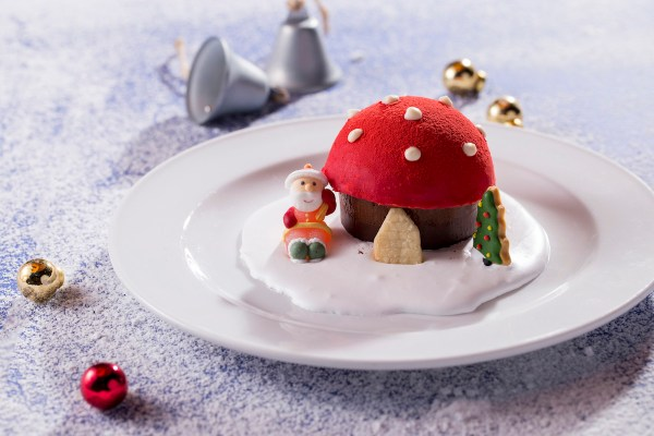 Christmas Mushroom Hut