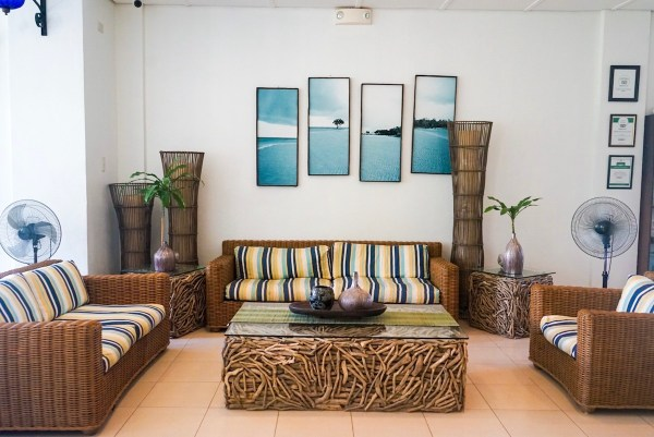 Hotel Lobby of Microtel Palawan