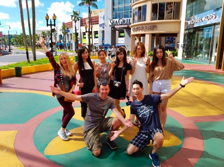 Popular social media influencers to promote Shop Guam. GVB brought in talent from seven of Guam's source markets to share their Shop Guam experience with their millions of followers. The popular social media influencers include Satoumi from Japan, Sermin Hong from Korea, JR Lee from Taiwan, Flavia Wong from Hong Kong, Gao Min (Nono) from China, Alodia Gosiengfiao from the Philippines, and Zoe Paradigma from Russia