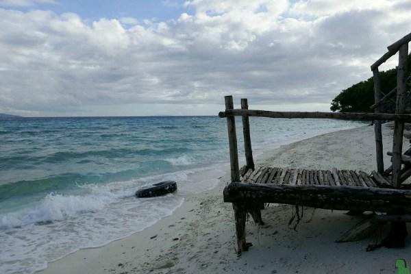 The side of the Sandbar –Bluewater Sumilon Resort