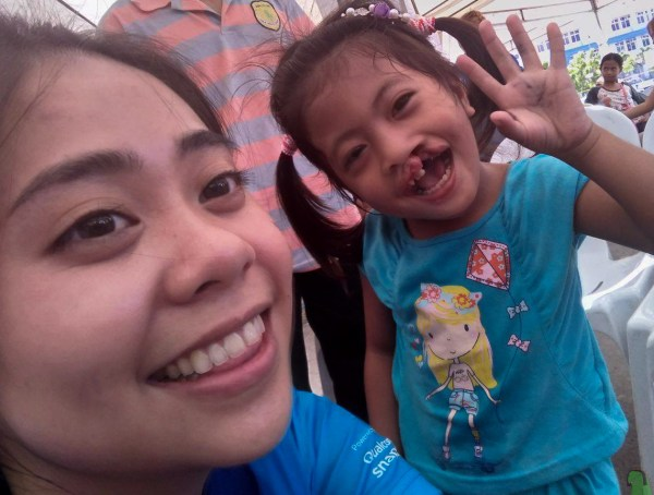 Wefie with a patient of Operation Smile's Iloilo Mission #4theSmile, #UntilWeHeal #WeLovePhotoPH #ASUSxOperationSmile #Zenfone4Selfie
