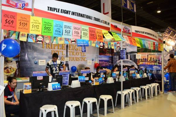 One of the exhibitors at 2017's Travel Tour Expo.