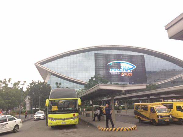 The terminal is just in front of MOA Arena. [Image Credit: JP Mortel Fajura/Facebook]