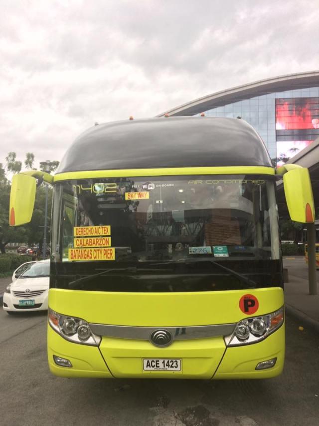 Each bus have its own comfort room. [Image Credit: JP Mortel Fajura/Facebook]