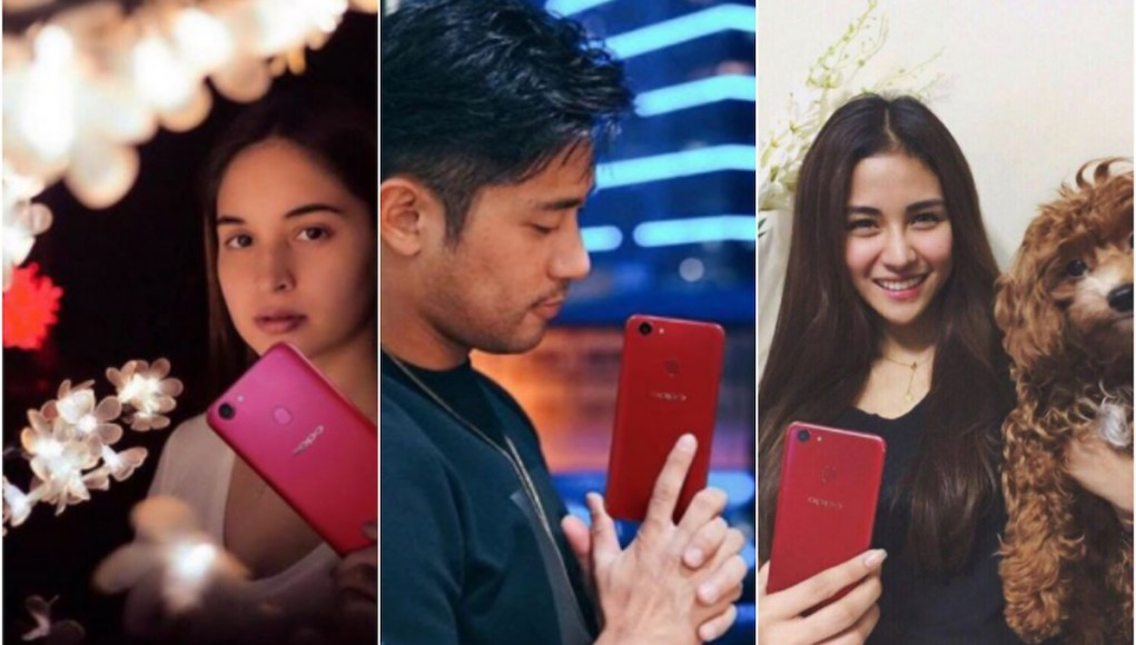 Celebrities using OPPO F5 Red Edition