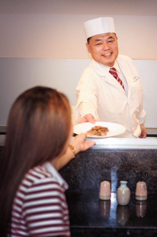 Chef Hiro @ Teppanyaki Station