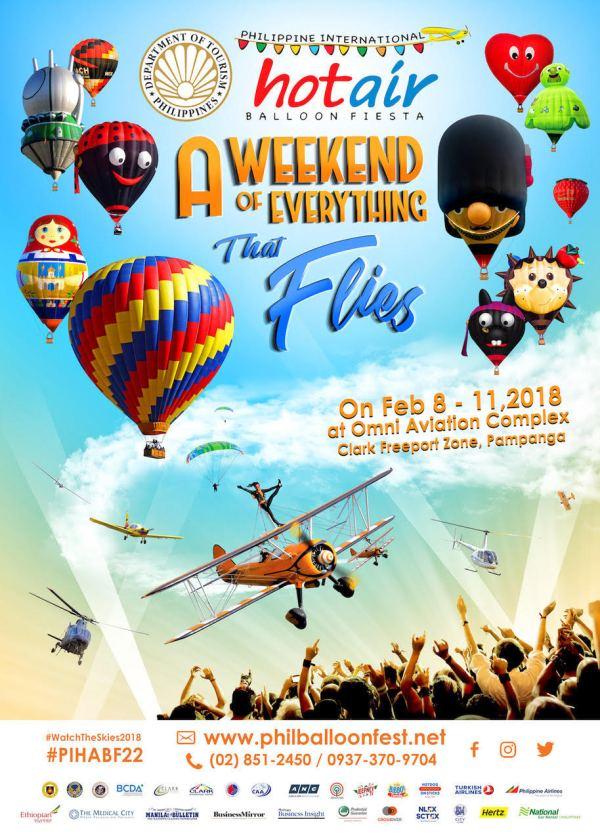 Philippine Hot Air Balloon Fiesta 2018