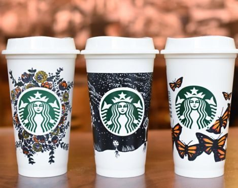 save money with starbucks reusable cup out of town blog