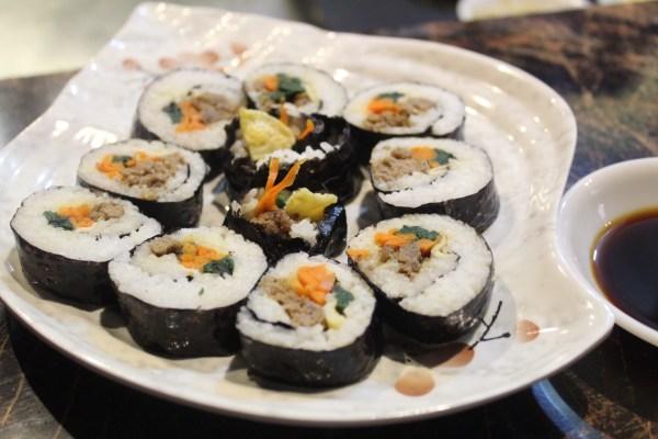 Kimbap Rolls in Kim & Chi.