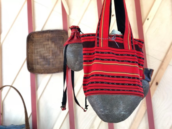 Bag made from Woven Fabric form Cordillera Region