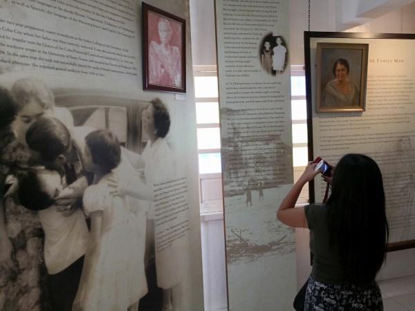 Inside Macapagal Museum