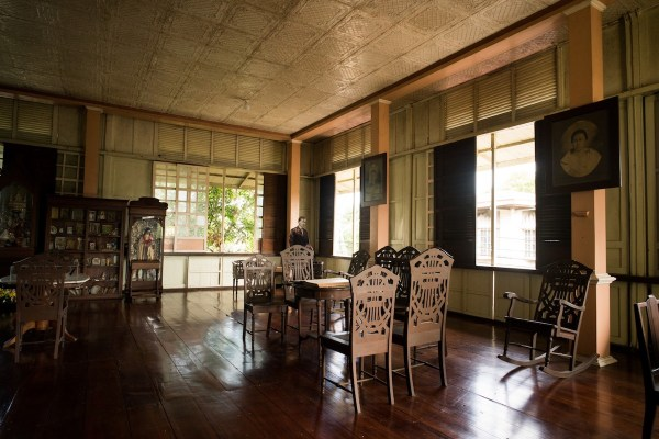 Inside Uitangcoy-Santos House by Martin San Diego- NPVB