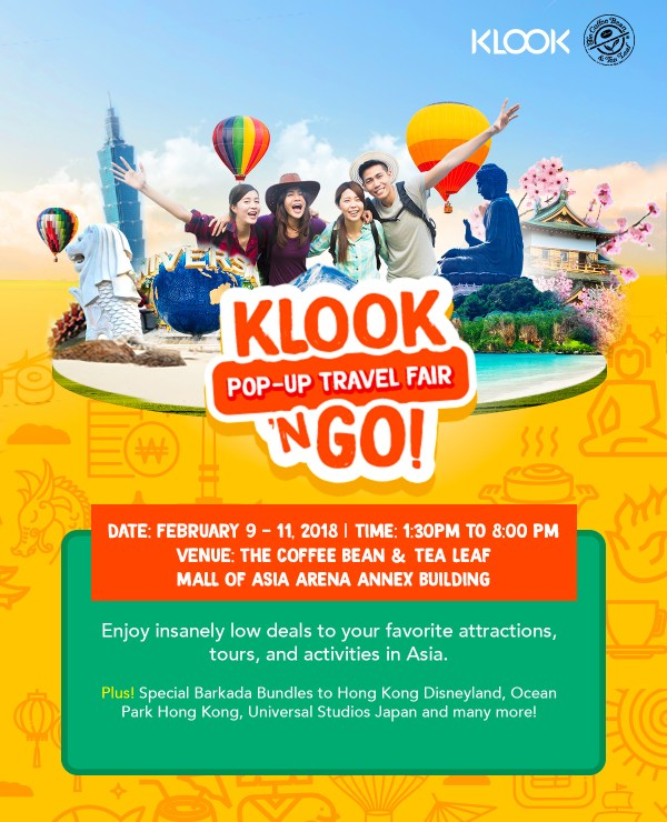 Klook n' Go Travel Fair